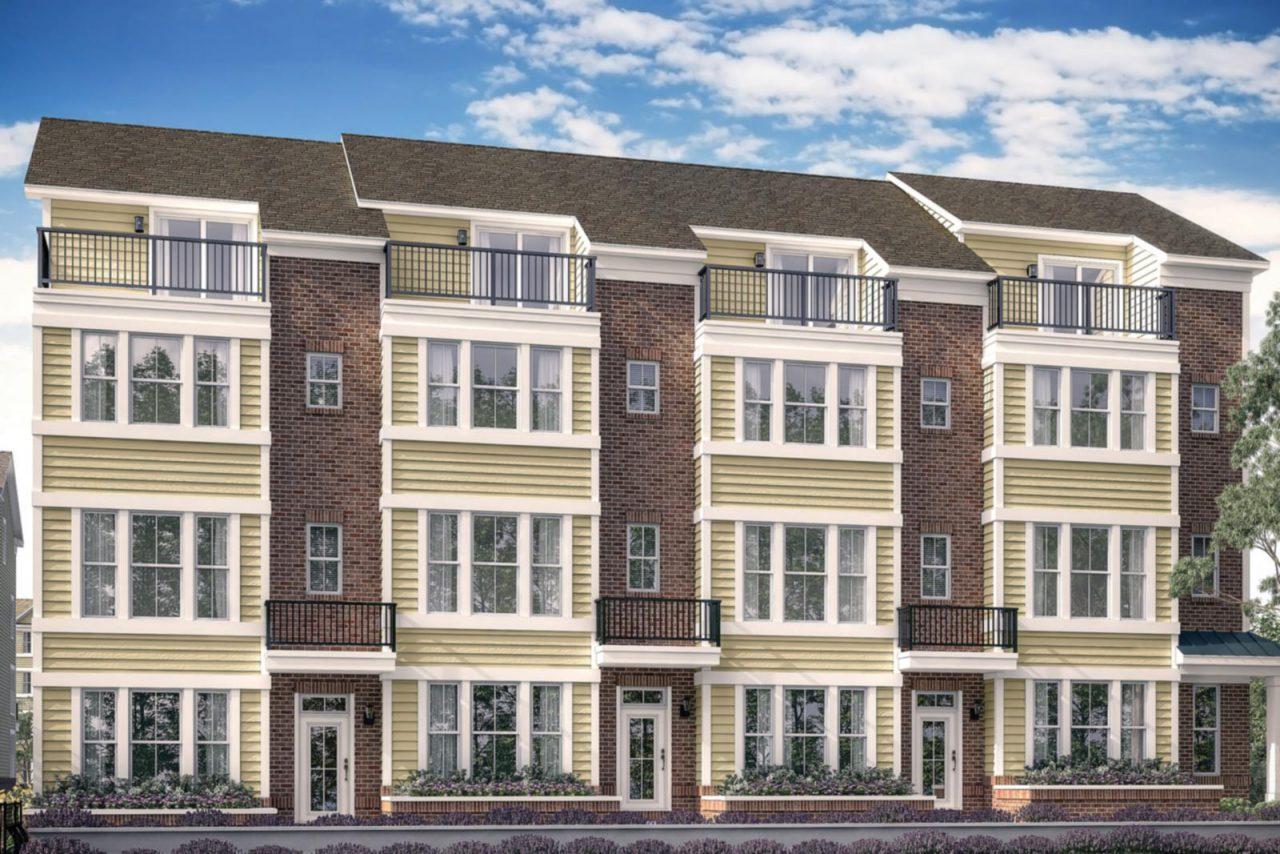 Woodland Townhome at Annapolis Towns community
