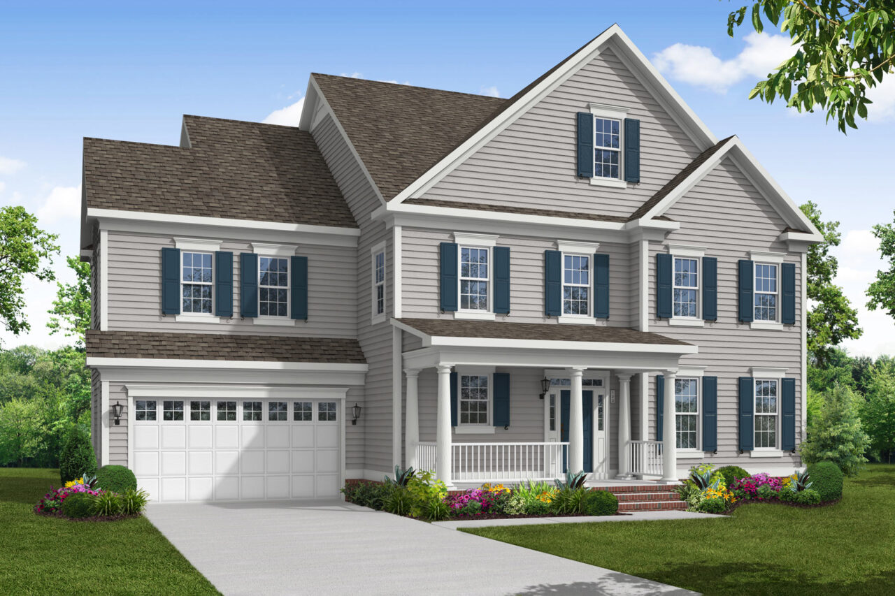 Rendering of the Mount Vernon IV Villa Home