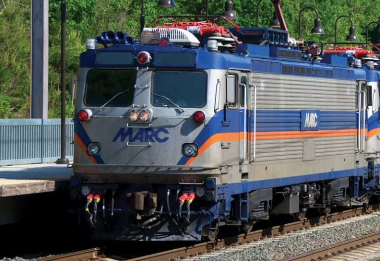 Photo of MARC train